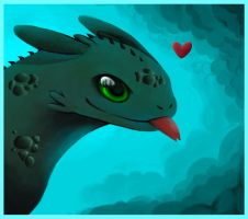 Toothless by applepie232