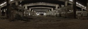 Prefabet Hall Panorama - front by Gundross