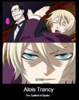 Alois Trancy Motivational Poster by thelittlea