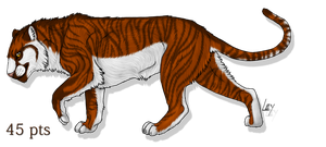 tiger adopt by wolfhound56200