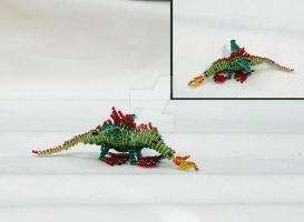 little bead dragon vs. 1.1 by cuddlefactor