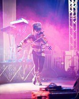 Lindsey Stirling at NovaAria 3 by Sandman-AC