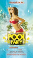 Pool Party Flyer by outlawv15