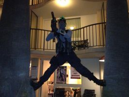 Sam Fisher does his signature pose by W4RH0US3