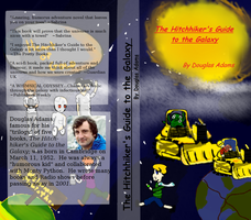 Hitchhiker's Guide to the Galaxy Book cover (100%) by kisekinokami