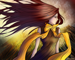 Hidden Feathers by AriaEleanor