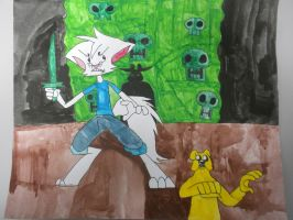 Finn and Jake: the Lich's Carnage by BARproductions