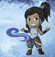 Korra the Awesome by Heza-chan