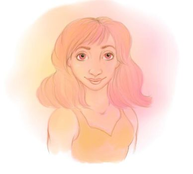 Pink Girl by ObsessiveTwilighter1