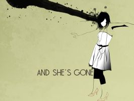 and she's gone by archlove