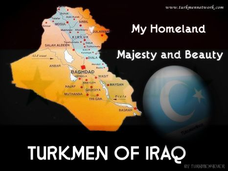 TURKMEN OF IRAQ MAP by turkmennetwork