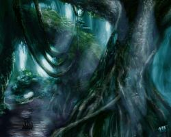 Skull Island Jungle by Mish87