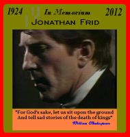 In Memorium.   Jonathan Frid, 1924-2012. by ShadeOPale