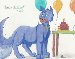 Karl's early b-day gift by BlueLumi