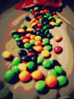Skittles by AmieLouisePhotograph