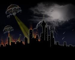 UFO Attack by crystalbreath81