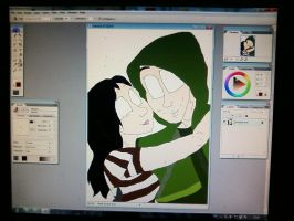 wip - me and olliiieeeh by MrsCromwell
