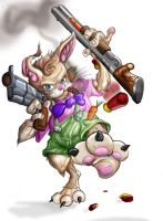 The Easter Bunny IS BACK by Tophoid