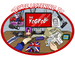 T Shirt Competition Submission (YoGPoD Design) by EagleOfTheStar