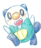 Oshawott by chanchimi