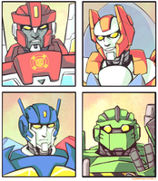 Rescue Bots by ZolataLita