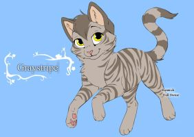 Warrior Cats Character Design templates Graystripe by Warriorcatscrazy