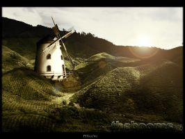 Windmill Wallpaper by thekellz