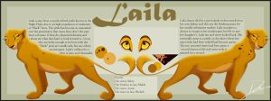 Laila Character Reference by LanieJ