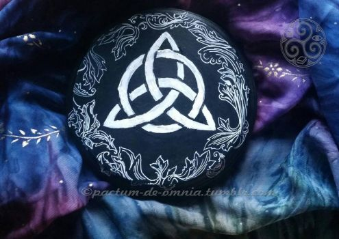 Triquetra Altar Tile by Rtist-Time