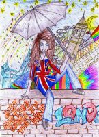 J'adore Londres by Gothic-batgirl