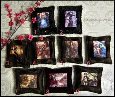 New Print Pillows for Sale by keelerleah