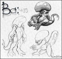 Ba: The Midget Xeno by peanutchan