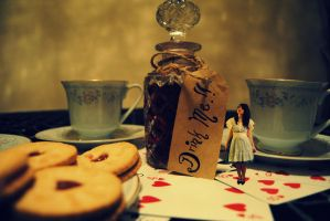 Alice in Wonderland by LiviiRose