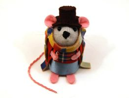 Tom Baker The Doctor Mouse by The-House-of-Mouse