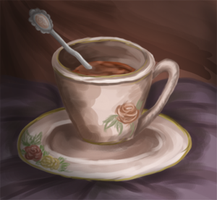 Tea Cup by Blesses