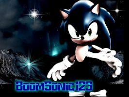 BoomSonic123 Icon (my icon) by SonicXBoom123