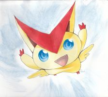 Victini by Dhavita