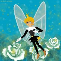Anthony - the king of flower fairies. by SlatePencilStroke