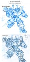 Transmetal Optimus Primal bot by GuidoGuidi