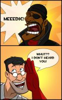 TF2 - MEDIC Comic by RatchetMario