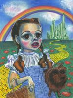 Caricature of Judy Garland as Dorothy by Caricature80