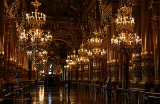Paris Opera House II by vmulligan