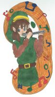 Link's Flute by Rhythm-Wily