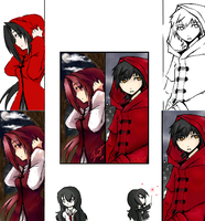 iScribble - Red and Myuu by Lilblkrose