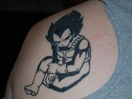 My Vegeta Tattoo by JaoLynn