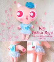 Miss Fashion Meow by vonvonz