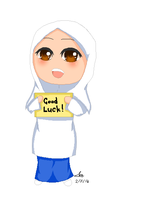 Good luck SPM! by mahura97