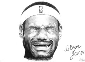 LeBron James by Fainas