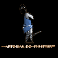 Artorias do it better by Ash3ray