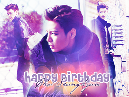 Happy Birthday T.O.P by aromartwork
